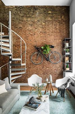 Inspirasi Keren Desain Dinding Batu Bata Modern