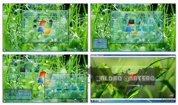 Glass Skinpack for Windows 7 Screenshot