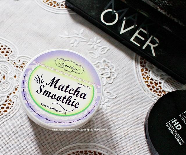 Masker Matcha Amethyst