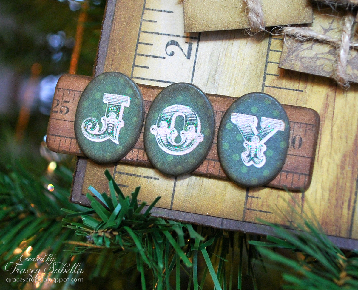Garden of grace christmas ornament tags for the leaky shed studio