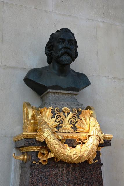 Parliament Vienna buste