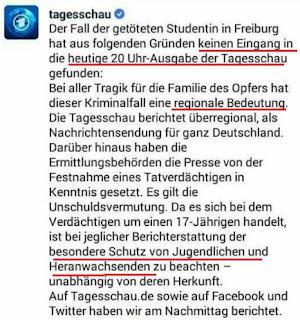 Заметка в немецкой газете