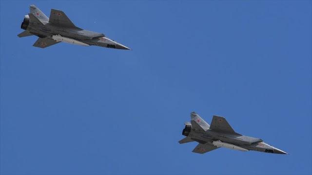 Rusia intercepta 21 aviones espía extranjeros en una semana