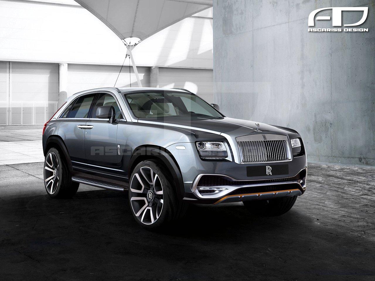 Rolls Royce SUV Version 3 (Cullinan)