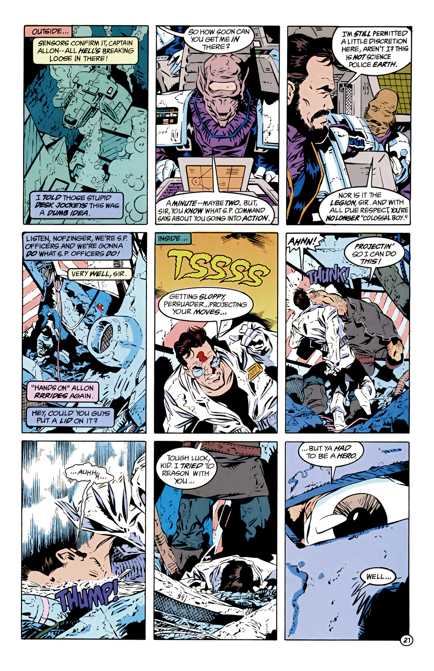 Legion of Super-Heroes (1989) 12 Page 21