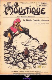 Le Moustique, Journal Humoristique Hebdomadaire, numéro 31, année 1931