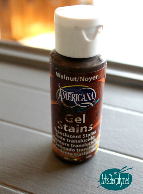 walnut americana gel stains translucent stain paint finish diy makeover karin chudy artisbeauty.ne