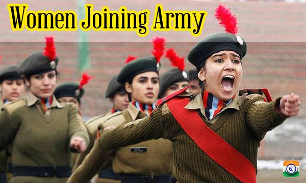 DEFENCE-WOMEN-ARMY