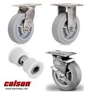Bánh xe cao su càng bánh xe inox chịu tải trọng (158~305kg)