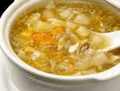 Resep masakan indonesia sup asparagus spesial (istimewa) praktis mudah sedap, segar, enak, nikmat lezat