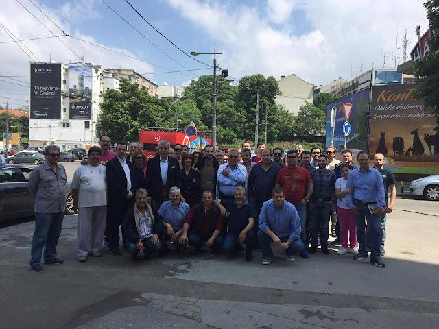 Λαρισαίοι επιχειρηματίες σε επαγγελματική αποστολή στο Βελιγράδι (ΦΩΤΟ)