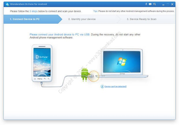 Download latest Software: Download Wondershare Dr Fone for