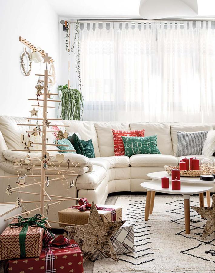 Integrar la decoración de Navidad en el estilo escandinavo