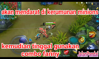 Cara Pakai Fanny di Bottom Lane