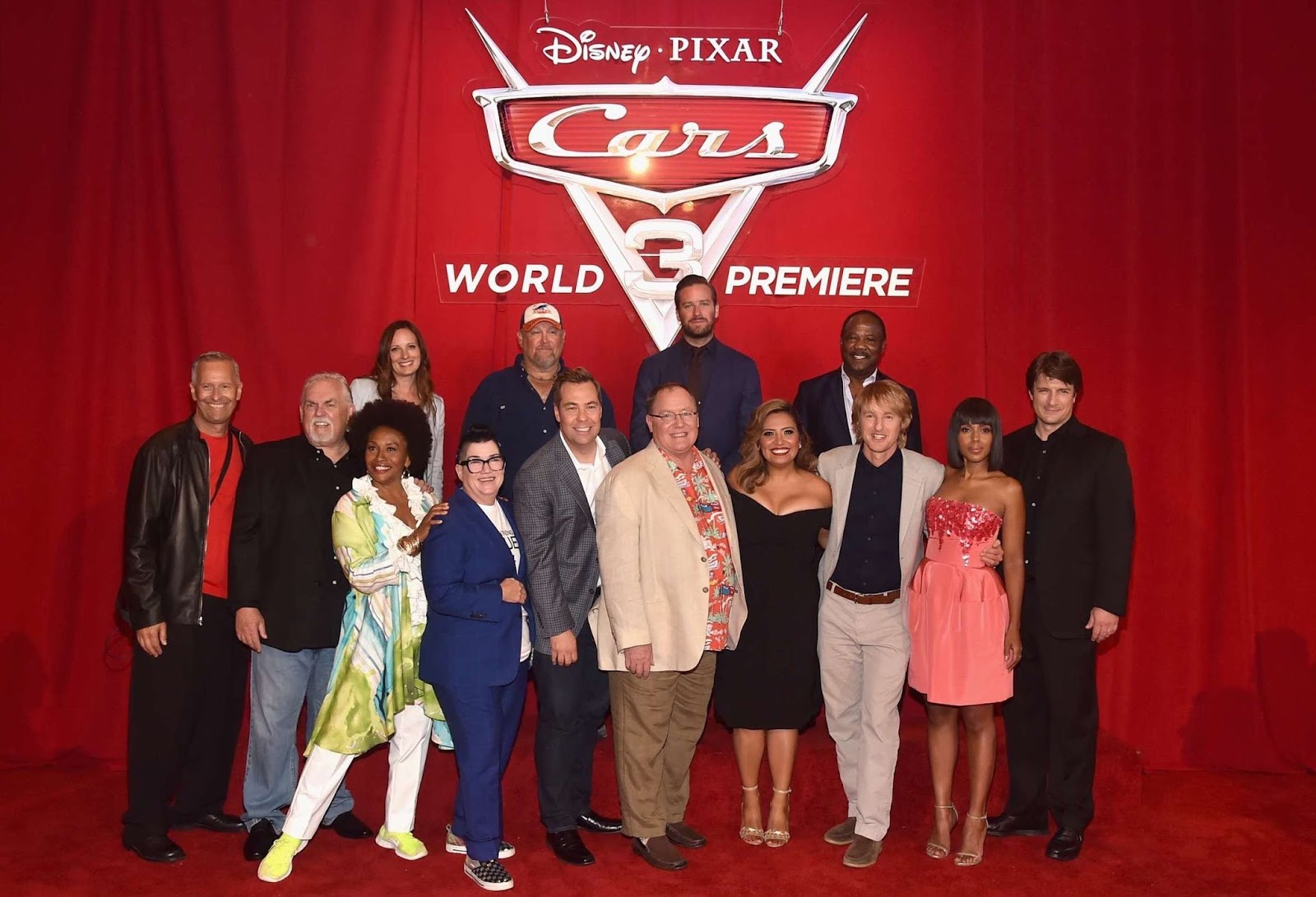 Cars 3 World Premiere From The Anaheim Convention Center