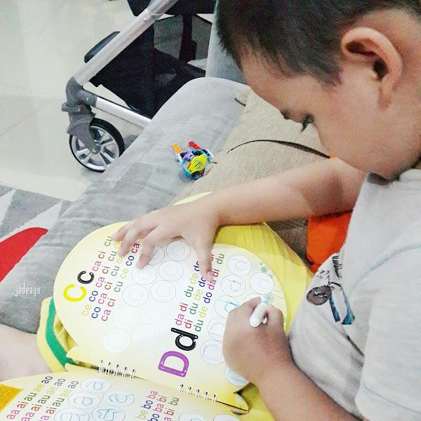 Belajar Huruf dan Angka ala si Anak Bujang