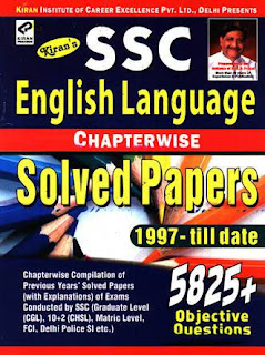 Download Kiran SSC English Language Chapter-wise solved papers 1999 - till date pdf - Free Download
