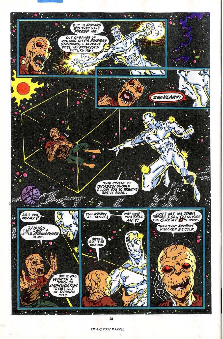 Read online Silver Surfer (1987) comic -  Issue #43 - 24