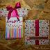 Biglietto pacco regalo di compleanno