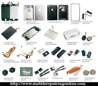 all mobile phone spare parts