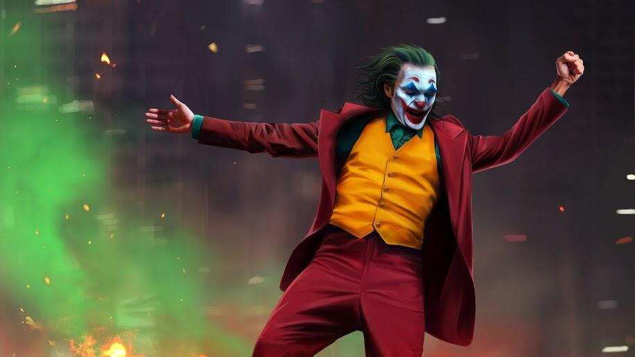 Joker, 2019, Joaquin Phoenix, 4K, #7.133