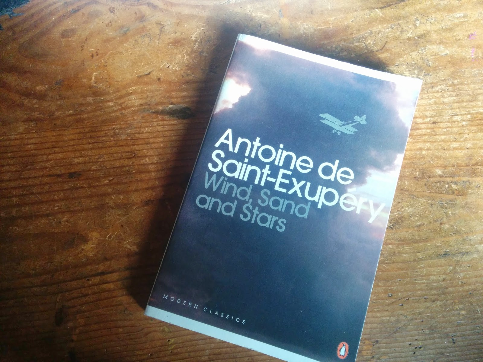 Penguin edition of Wind, Sand and Stars by Antoine de Saint-Exupéry