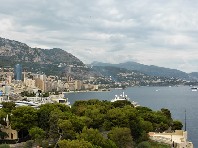 Museo Oceanográfico de Mónaco, vista del puerto