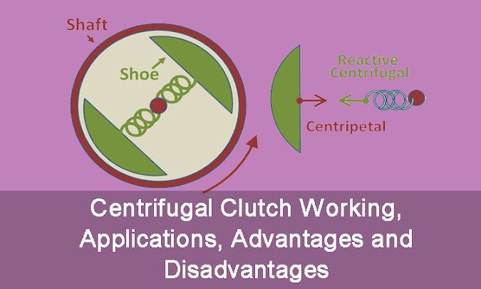 Centrifugal Clutch Working, Applications, Advantages and Disadvantages