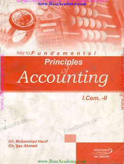 KEY Book of Principles of Accounting for I.COM Part 2