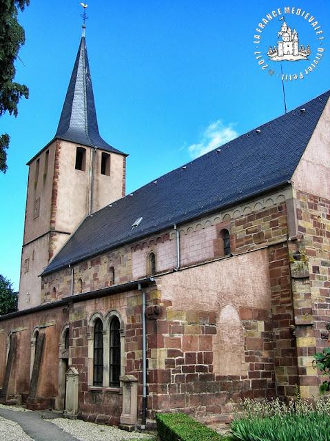 DORLISHEIM (57) - Eglise Saint-Laurent (XIIe-XVIe siècles)