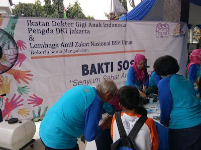 Indahnya Senyum Sehat Anak Indonesia Bersama IDGAI Dan LAZNAS