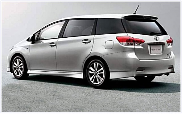 2018 Toyota Wish Review And Rumors