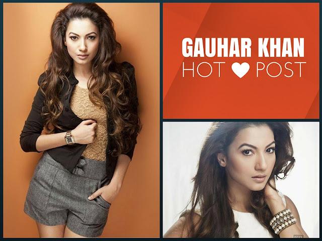 Gauhar Khan Hot Post