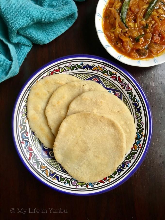 Orotti | Malabar Rice Pancake / Flatbread