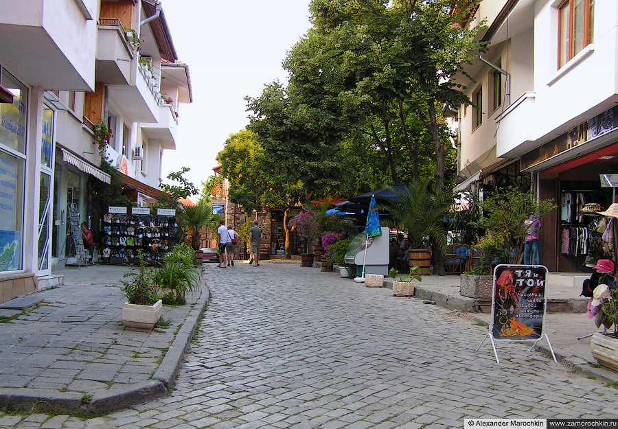 Улицы Созополя | The streets of the town of Sozopol