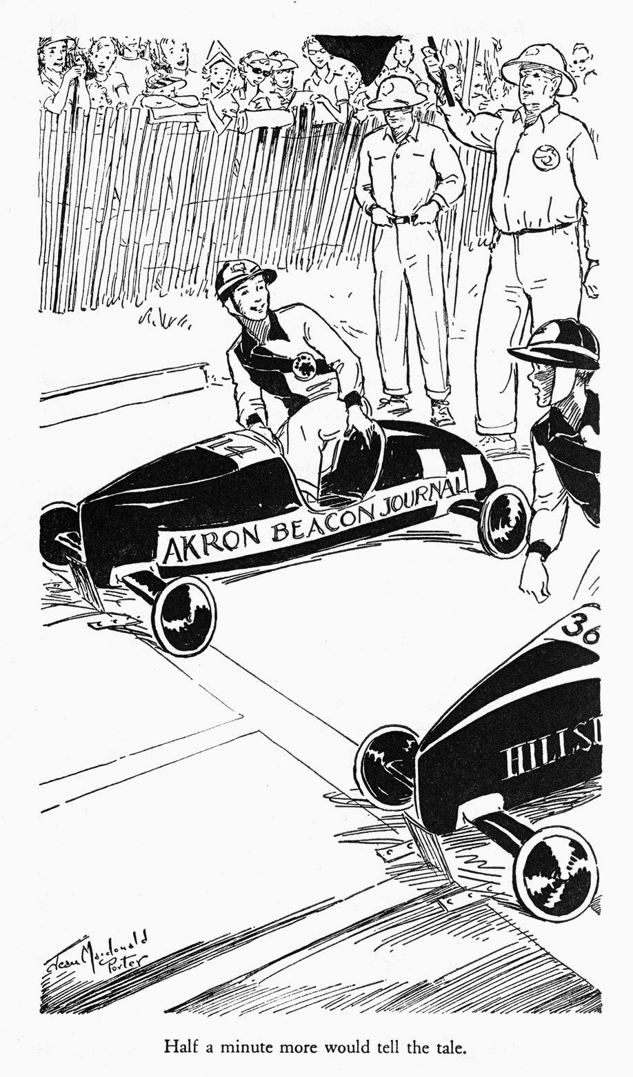 progress is fine but it s gone on for too long a race for bill Pine Box Derby a race for bill soap box derby racing 1951
