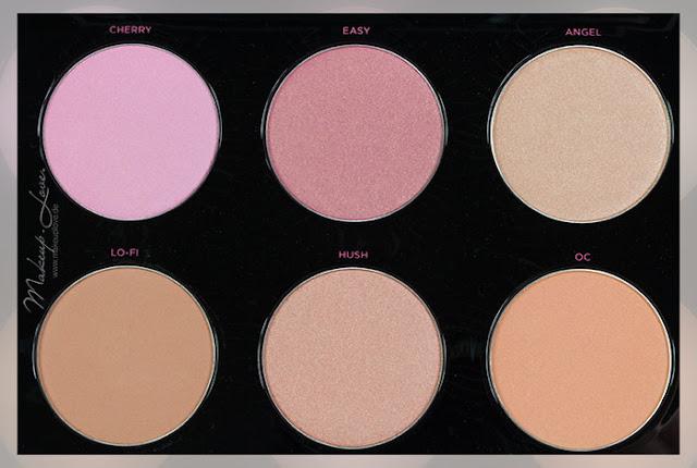urban decay x gwen stefani blush palette review swatches