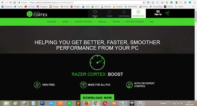 """Menggunakan aplikasi tambahan bernama """"Game Booster untuk GTA5"""