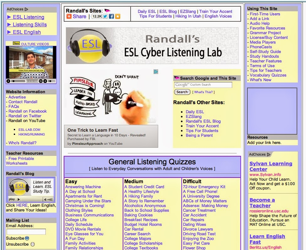 Listening Activities For Adults 64