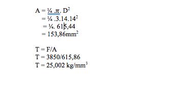 Draf Soal, tegangan tarik, mekanika teknik, poros, teori kejuruan, soal mekanika teknik, beban tarik, diameter