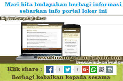 portal info lokerja terbaru soloraya desember 2016