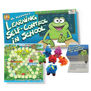 Executive function game for helping kids with self control