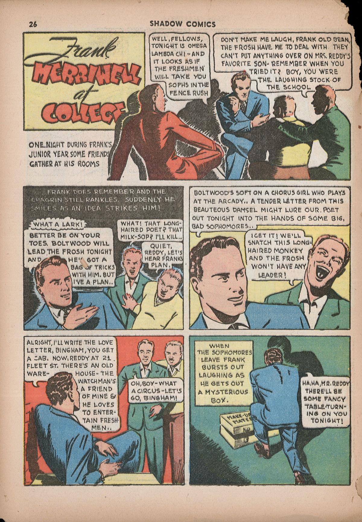 Read online Shadow Comics comic -  Issue #2 - 29