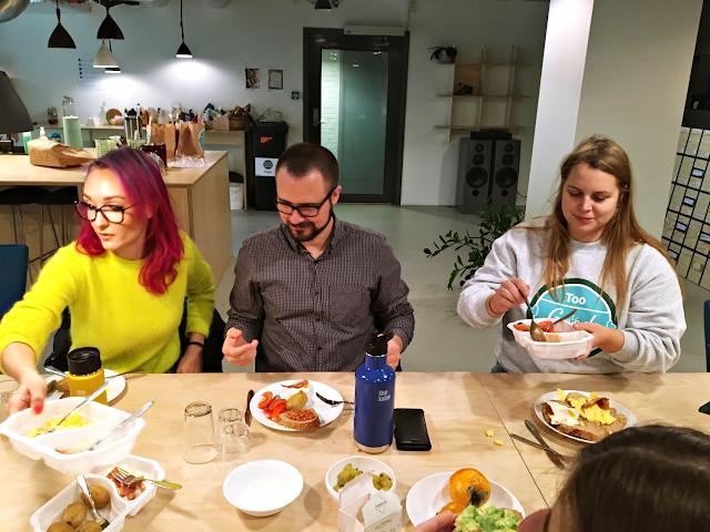 Lunsj med Too Good To Go i lokalene til Tøyen start-up village