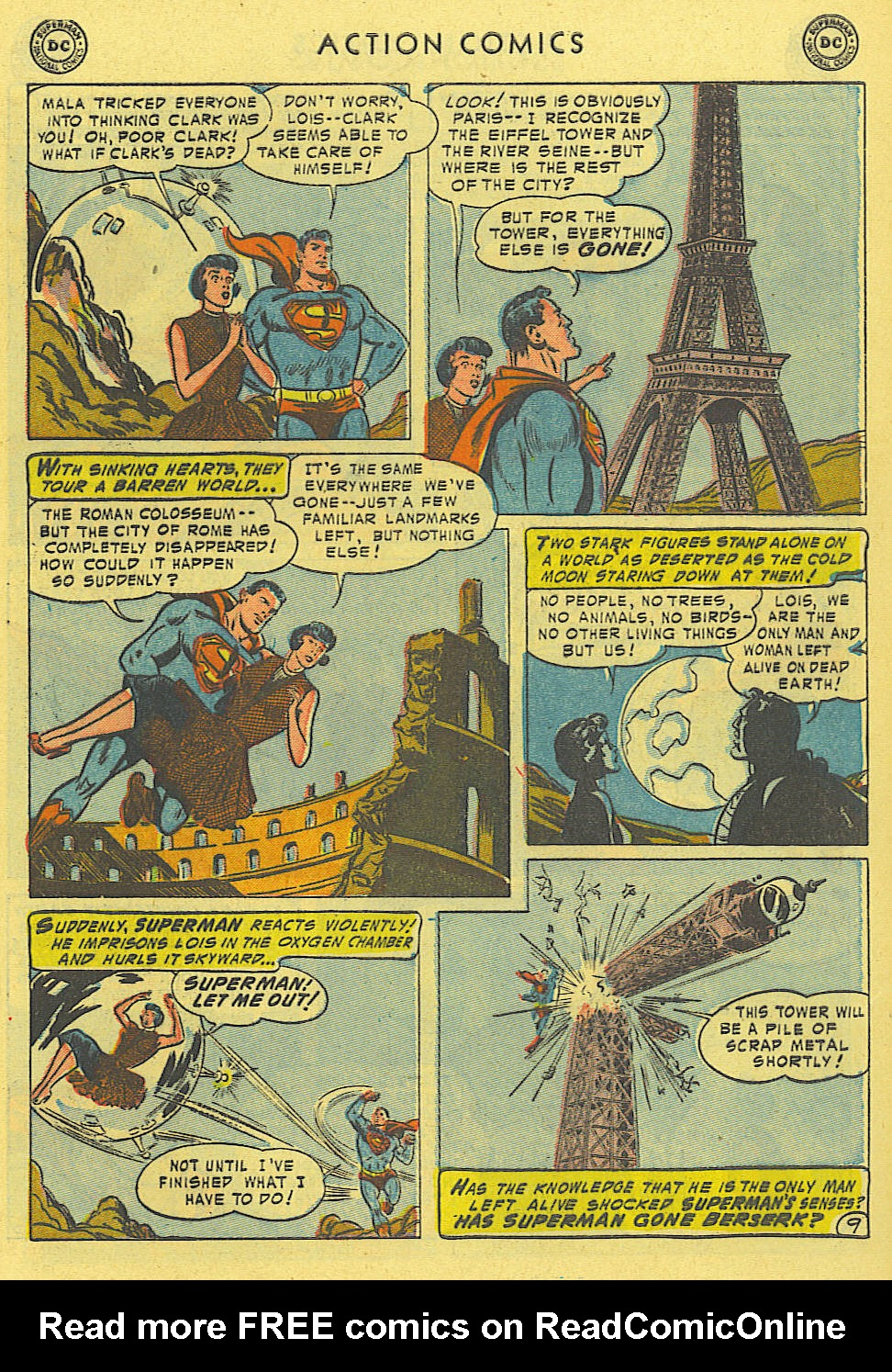 Read online Action Comics (1938) comic -  Issue #194 - 10