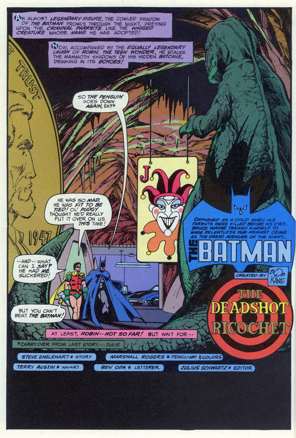 Read online Shadow of the Batman comic -  Issue #3 - 21