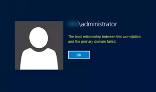 The Trust relationship between this workstation and the primary domain failed 1 – trust%2Brelationship