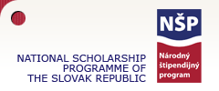 National Scholarship Programme of the Government of the Slovak Republic for Graduate Students, University Teachers, Researchers and Artists