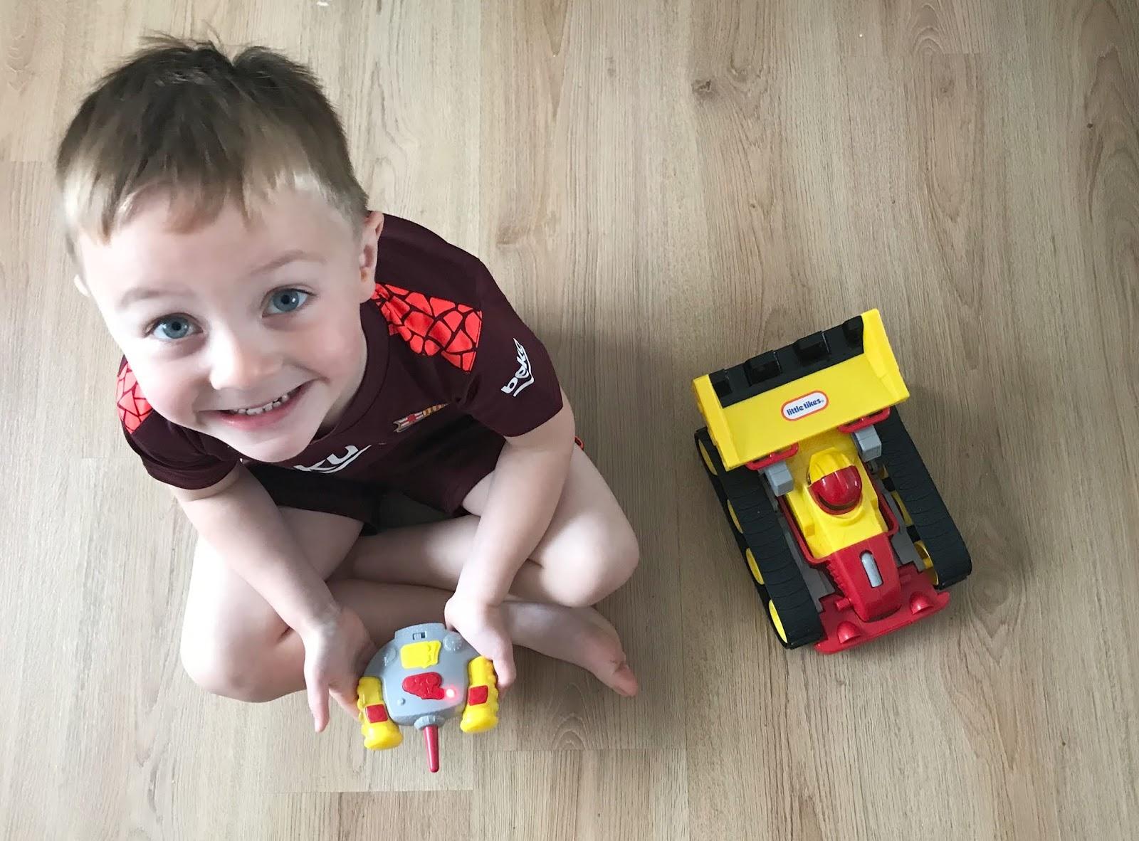Little Tikes RC Dozer Racer Remote Control Car Review