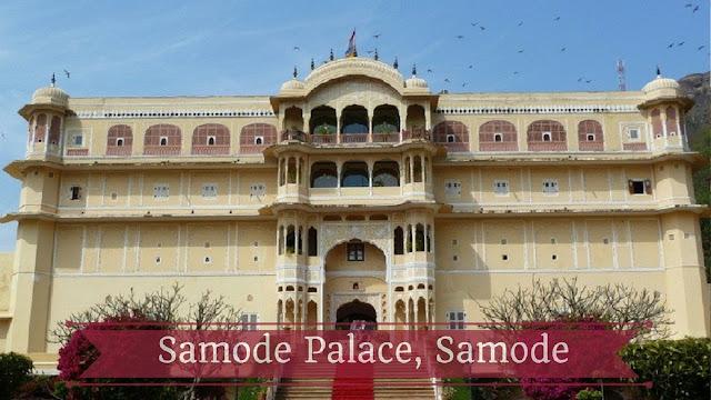 Samode Palace, Samode